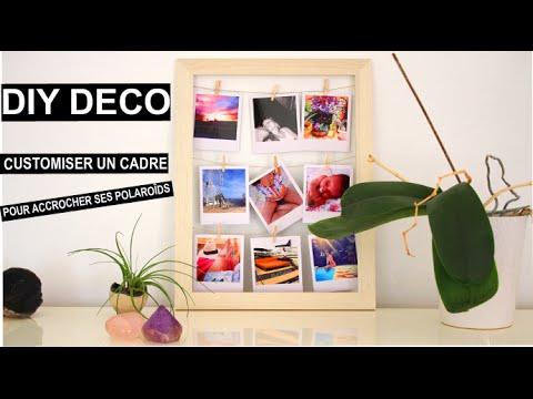 by isnata tuto diy deco customiser un cadre pour accrocher ses photos inthefame style. Black Bedroom Furniture Sets. Home Design Ideas