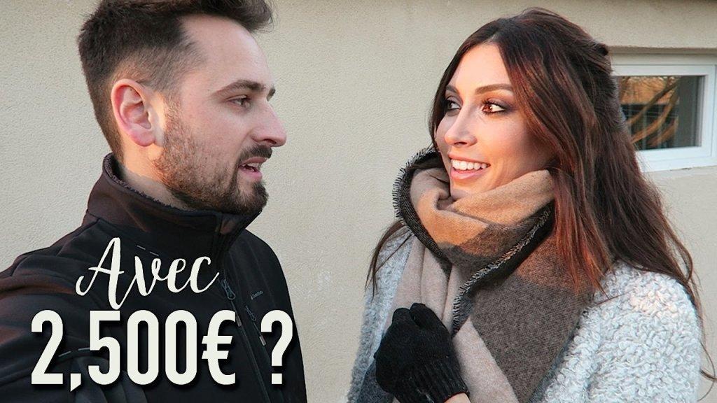 Que feriez-vous avec 2,500€ ?